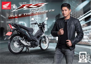 Turn your riding experience into a fun, thrilling journey with The New RS125