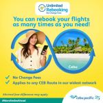 Cebu Pacific permanently removes change fees