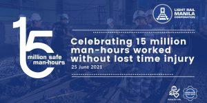 LRMC achieves milestone of 15 million safe man-hours