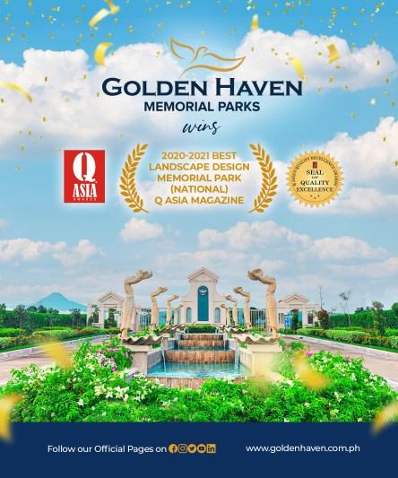 Golden Haven won an award