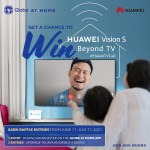 Only from Globe At Home, upgrade your home setup with a Huawei Vision S