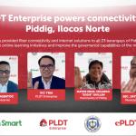 PLDT Enterprise powers connectivity of Piddig, Ilocos Norte