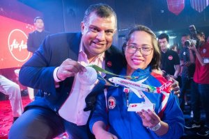 AirAsia Philippines honors 1st Filipino Olympic Gold Medalist Hidilyn Diaz with unlimited flights