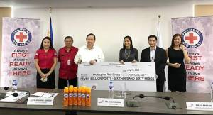 Reckitt donates more than P7M to Philippine Red Cross for COVID-19 relief efforts
