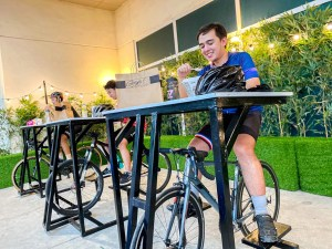 Bike and Dine Park, a first safe dining experience, opens at SM City Marilao