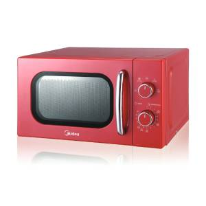 Midea's multi-functional microwave oven for retro feels and a pop of color