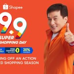 Shopee welcomes International Superstar Jackie Chan as they kick off the most action-packed year-end shopping season with 9.9 Super Shopping Day