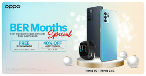 OPPO Ber-months special treats, freebies, and bundles this holiday season