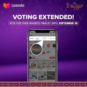 Lazada extends Miss Universe Philippines Fan Vote until September 29
