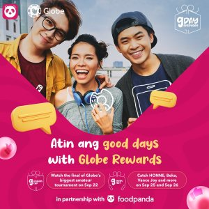 Globe partners with foodpanda for G Music Fest & G Legends Cup
