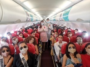 Miss Universe PH 2021 candidates join AirAsia Philippines in its advocacy of reviving the tourism industry