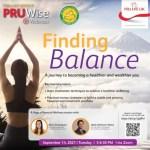 Pru Life UK presents PRUWise Webinars Collab Series: Finding Balance