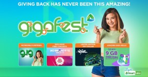 Smart pulls out all stops in month-long GigaFest for subscribers