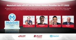 ePLDT Recognized as Value-Added Reseller for FY 2022 by MuleSoft