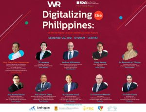 W&R and National University of Singapore to host forum on digitalizing the Philippines