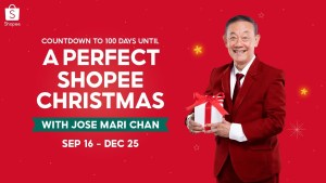 100 Days to go until a Perfect Shopee Christmas with Jose Mari Chan