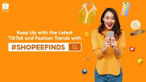 Keep up with the latest TikTok and fashion tends for less with #ShopeeFinds