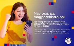 #AmbagKo Rehistro. Boto campaign boosts activities to spur more Filipinos to register with deadline extended