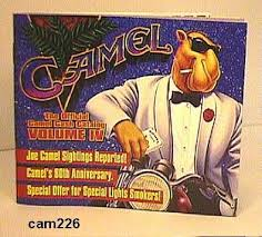 NYC's largest selection of vintage CAMEL Cigarette Clothing