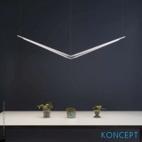 Z-Bar Pendant Light, Bird | Koncept at MetropolitanDecor