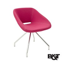 Red Swivel Chair | B&T | MetropolitanDecor