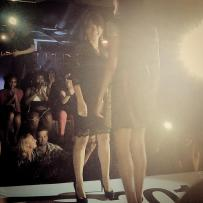 Designer Nora Del Busto at the Chicago Fashion Foundation's runway show at the Fashion's Night Out.