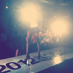 Chicago Fashion Foundation hosts a runway show at Underground at the close of Fashion's Night Out Chicago.