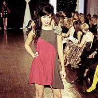 Design by Sahar Dada shown at Next Fashion 2012 runway show at Germania Place during Fashion Focus Week Chicago.
