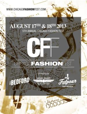 Chicago Fashion Fest 2013