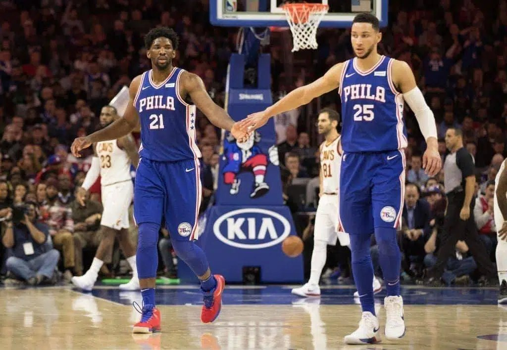 Embiid e Simmons - Sixers
