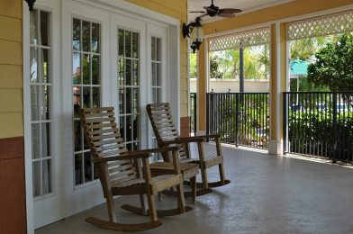 Caribe Cove Resort clubhouse patio