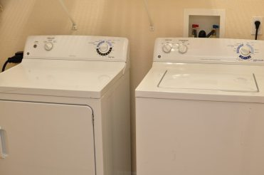 washer and dryer at caribe cove resort