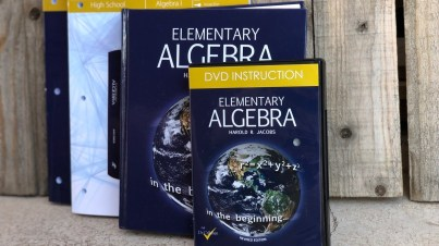 Jacobs Elementary Algebra textbook dvd