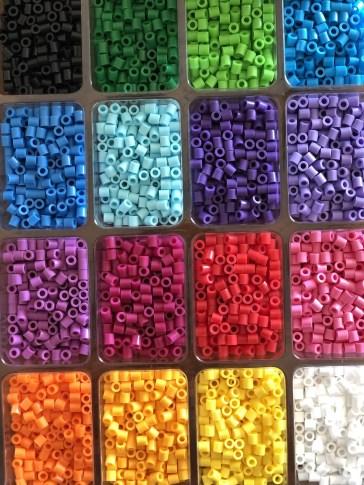 Perler Beads Fun Colors