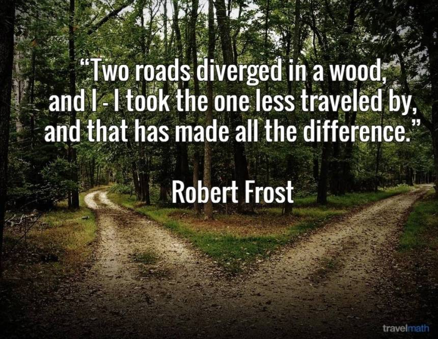 Image result for the road less traveled