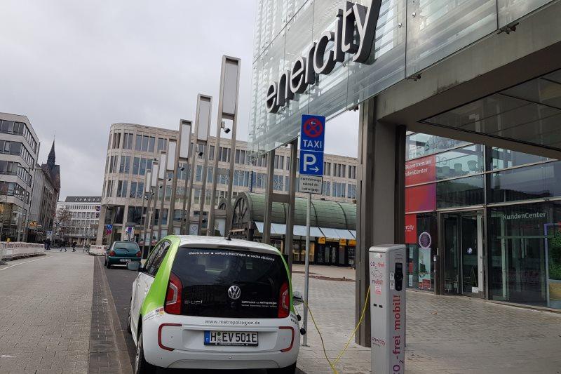 Falsche Zahlen bezüglich der Ladeinfrastruktur in Hannover