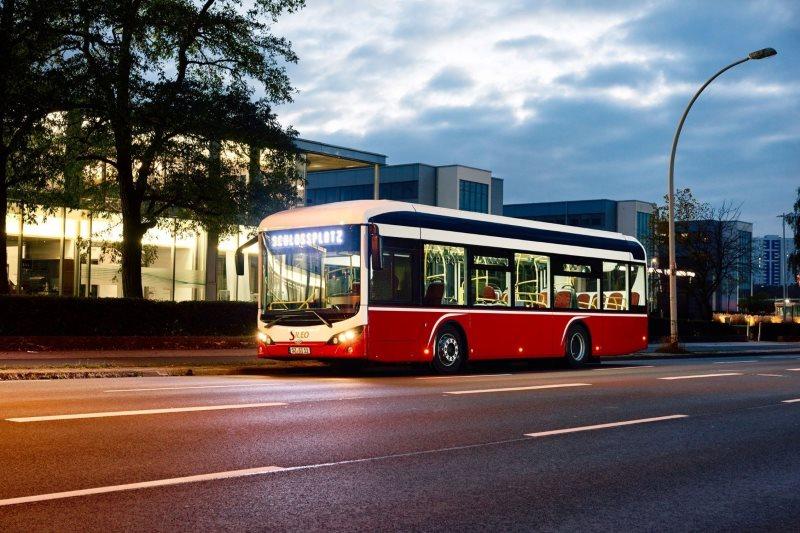 Elektrobusse aus Salzgitter für Hamburg