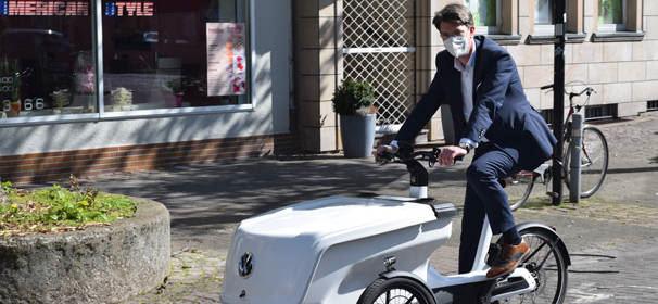 Stadt Hildesheim testet E-Bike Cargo
