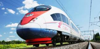 High Speed Bullet Train Project in India