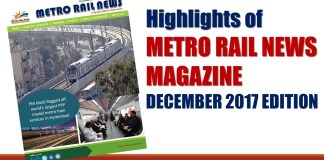 Highlights of Metro Rail News 2017 Edition