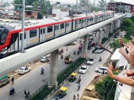 Lucknow Metro to Complete North-South Corridor by February