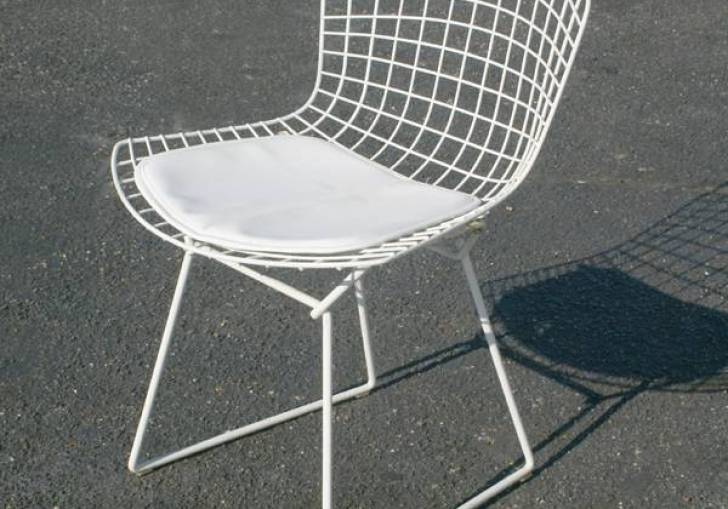 Bertoia Side Chair White