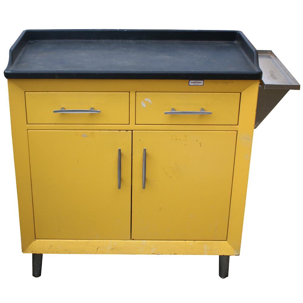 32 Industrial Vintage Metal Cabinet  eBay