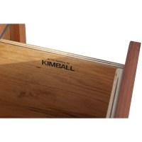 Mid-Century Modern Walnut Kimball Cabinet | eBay