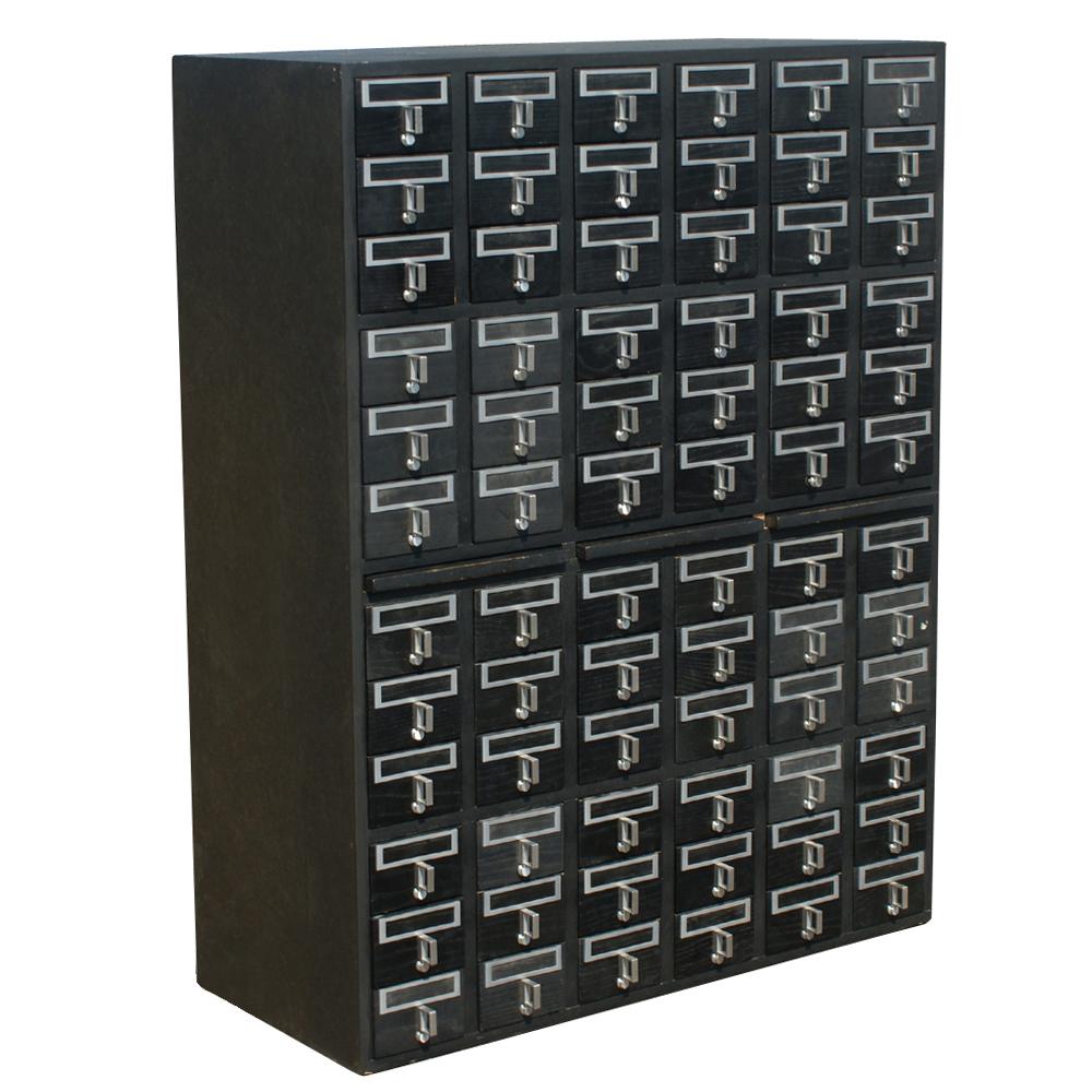 Card File Cabinet