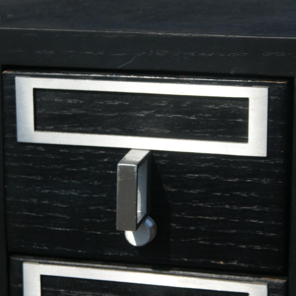72 Drawer Library Index Card Catalog File Wood Cabinet  eBay