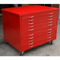 """44"""" (1) Architectural Drafting Flat File Cabinet   eBay"""