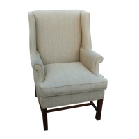 Vintage Wingback Hickory Chair Lounge Arm Chair