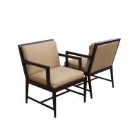 (2) Vintage Mid Century Modern HBF Lounge Arm Chairs | eBay