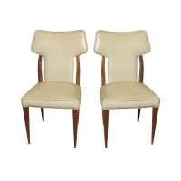(2) Vintage Conover High Back Side Chairs | eBay